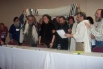 Rabbi Fern receiving smicha